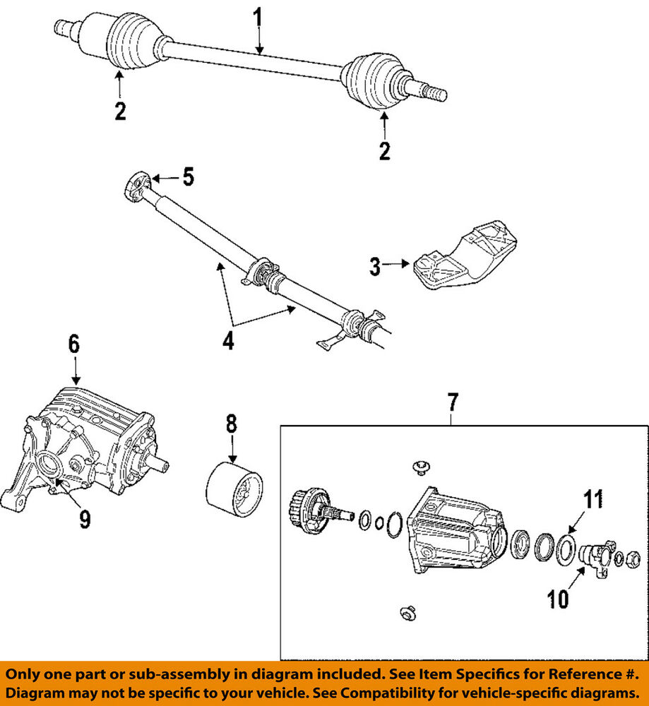 hight resolution of details about chrysler oem 04 06 pacifica rear differential axle seals 5134787ab