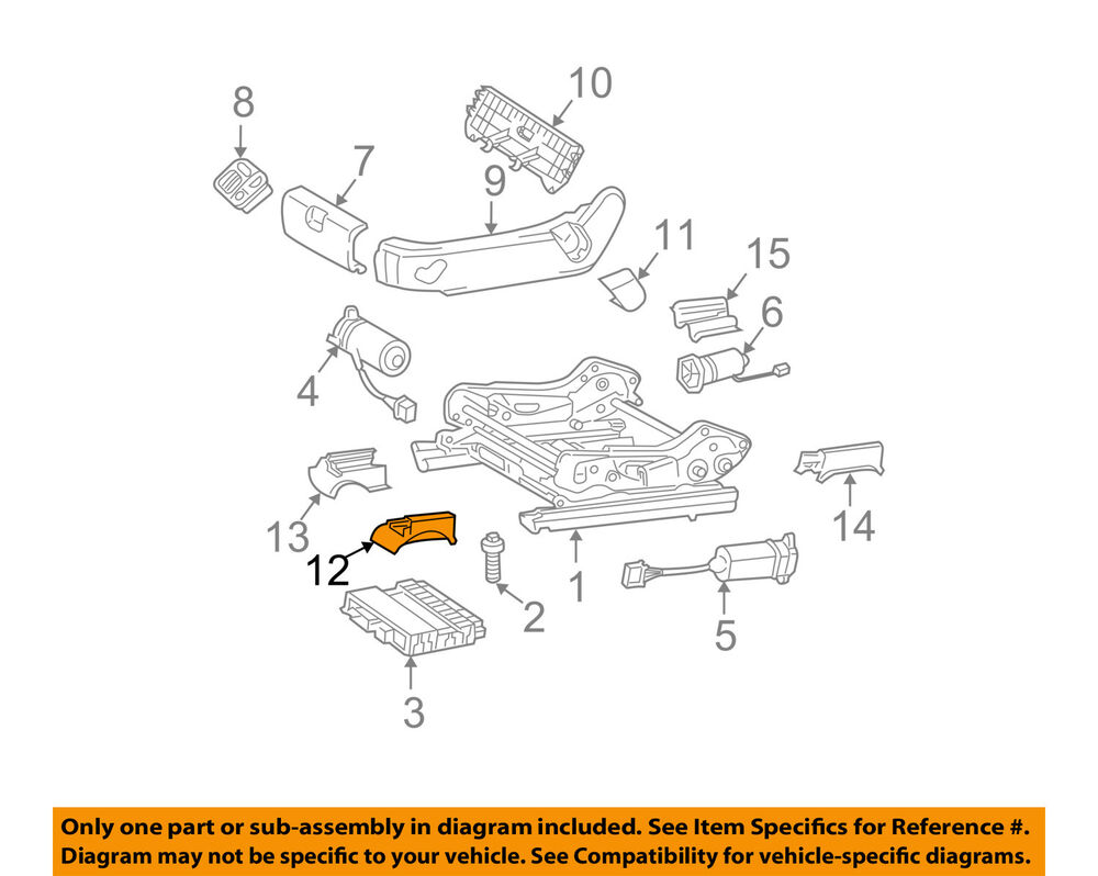 medium resolution of details about mercedes mercedes benz oem 03 04 e320 seat track track cover left 21191905205c56