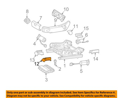 small resolution of details about mercedes mercedes benz oem 03 04 e320 seat track track cover left 21191905205c56