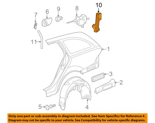 small resolution of details about mercedes oem 04 09 e320 quarter panel actuator bracket 2118201214
