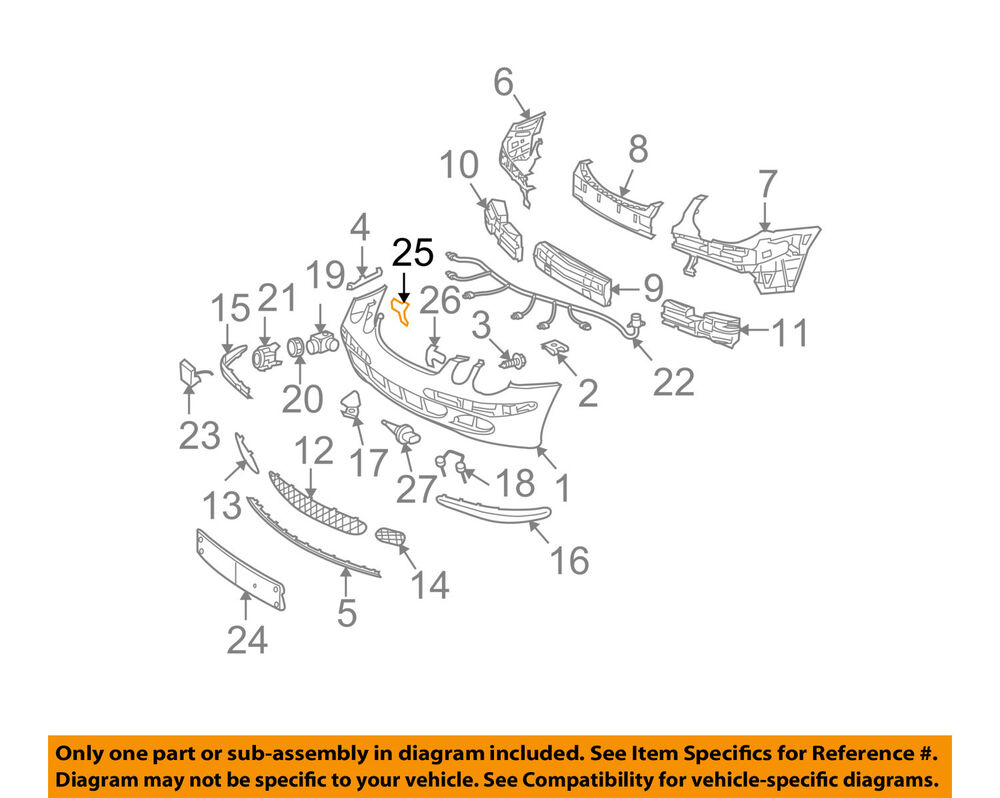 hight resolution of details about mercedes oem e320 front bumper license bracket mount plate right 2118850211