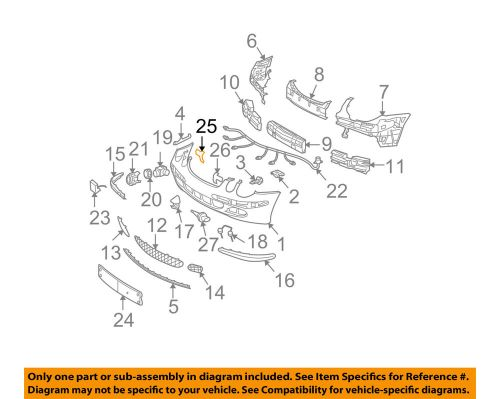 small resolution of details about mercedes oem e320 front bumper license bracket mount plate right 2118850211