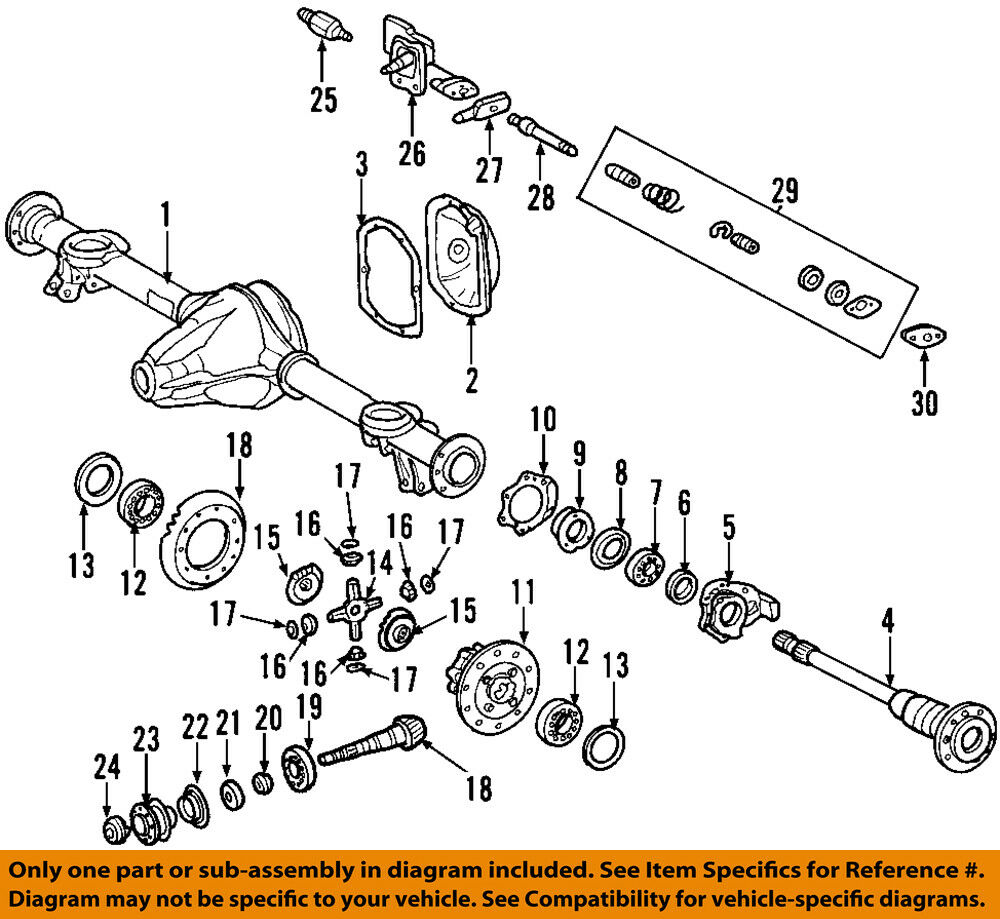 medium resolution of details about mercedes oem 02 08 g500 rear axle housing 4633500203