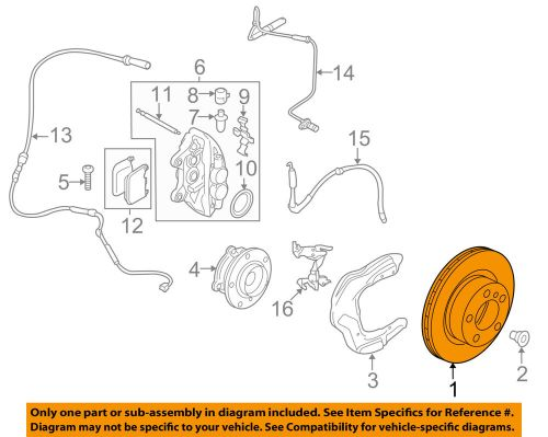small resolution of details about bmw oem 14 16 335i gt xdrive disc brake rotor 34106797603