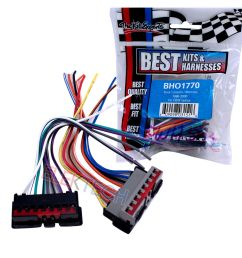 details about best kits bho1770 oem factory radio replacement install harness for ford [ 1000 x 1000 Pixel ]