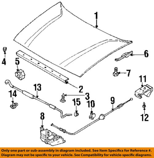 small resolution of details about honda oem hood release cable clip 1739076180