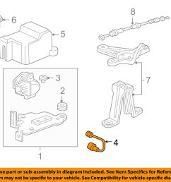 details about acura honda oem 01 03 cl abs anti lock brakes g sensor 39940s30003 [ 1000 x 798 Pixel ]