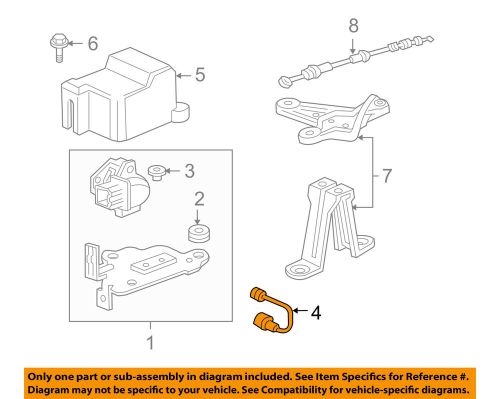 small resolution of details about acura honda oem 01 03 cl abs anti lock brakes g sensor 39940s30003