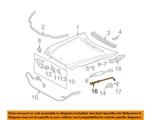 small resolution of details about mercedes mercedes benz oem 03 05 e320 hood latch lock release cable 2118800259