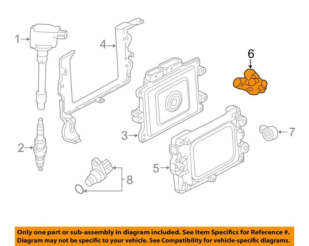 hight resolution of details about honda oem 16 18 civic engine crankshaft crank position sensor cps 375005baa01