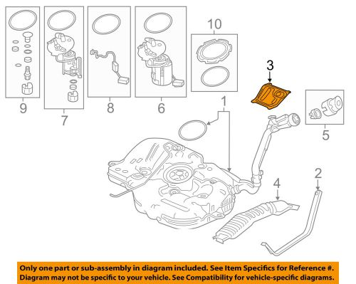 small resolution of details about honda oem 16 17 civic 1 5l l4 fuel system baffle 74660tbaa00