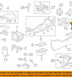 details about honda oem accord center console auxiliary radio stereo input jack 39112t2aa01 [ 1000 x 798 Pixel ]
