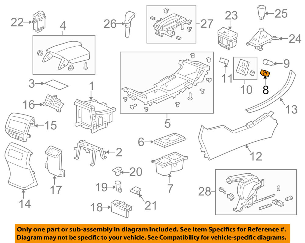 medium resolution of details about honda oem accord center console auxiliary radio stereo input jack 39112t2aa01