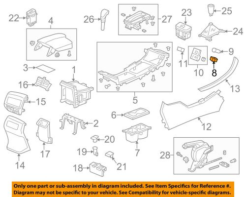 small resolution of details about honda oem accord center console auxiliary radio stereo input jack 39112t2aa01