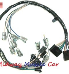 details about dash instrument cluster feed wiring harness 63 64 65 chevy impala biscayne [ 1000 x 866 Pixel ]