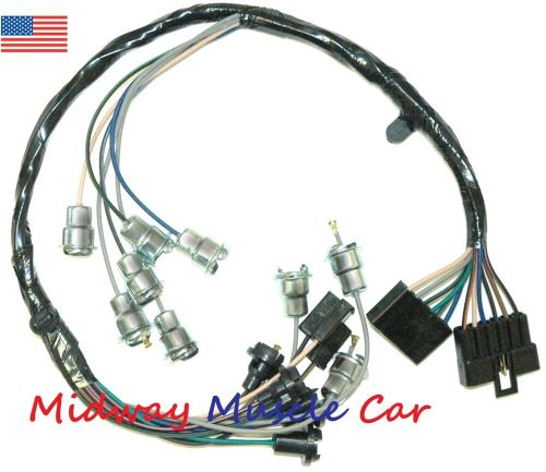 small resolution of details about dash instrument cluster feed wiring harness 63 64 65 chevy impala biscayne