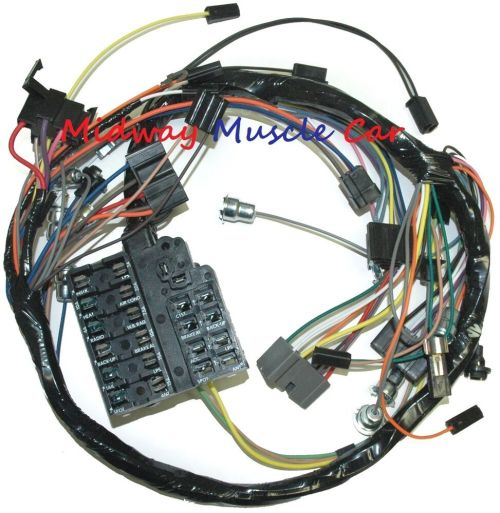 small resolution of details about dash wiring harness with fuseblock 58 62 chevy impala biscayne bel air el camino