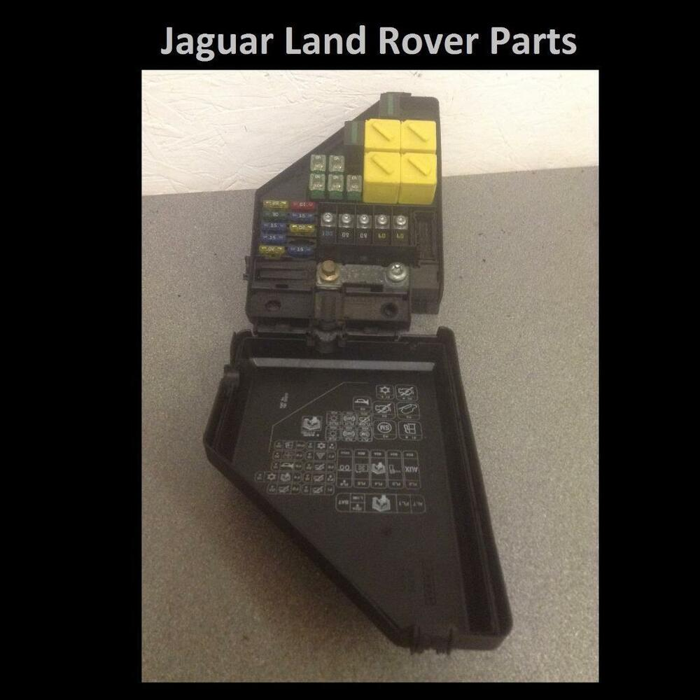 hight resolution of details about land rover freelander 1 td4 under bonnet fuse box yqe000272 yqe000271