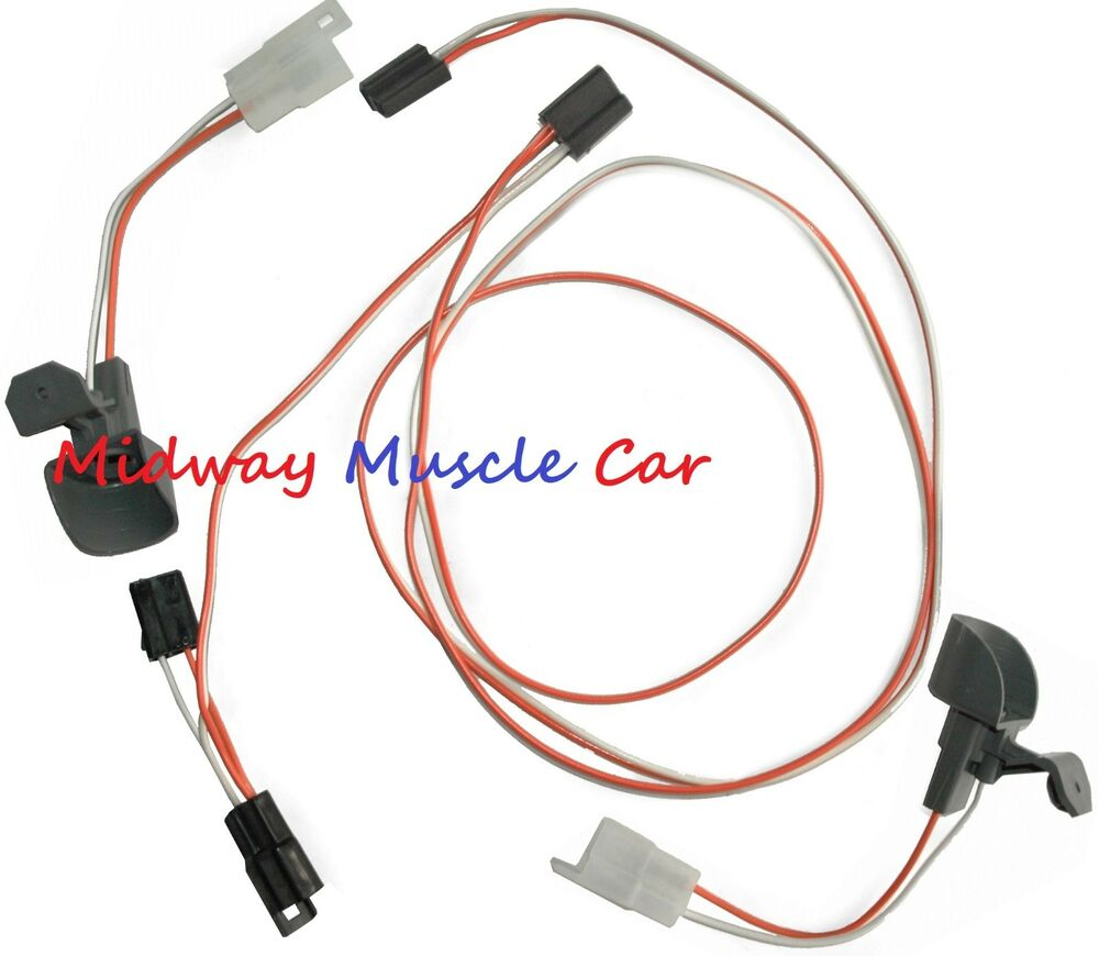 hight resolution of details about under dash courtesy light wiring harness chevy gmc 67 72 pickup truck blazer