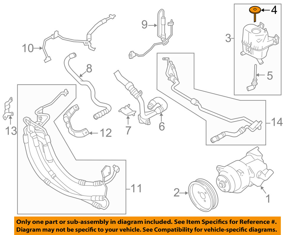 hight resolution of details about bmw oem 11 16 535i xdrive power steering pump reservoir tank cap 32416784079