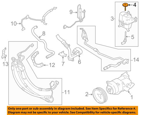 small resolution of details about bmw oem 11 16 535i xdrive power steering pump reservoir tank cap 32416784079