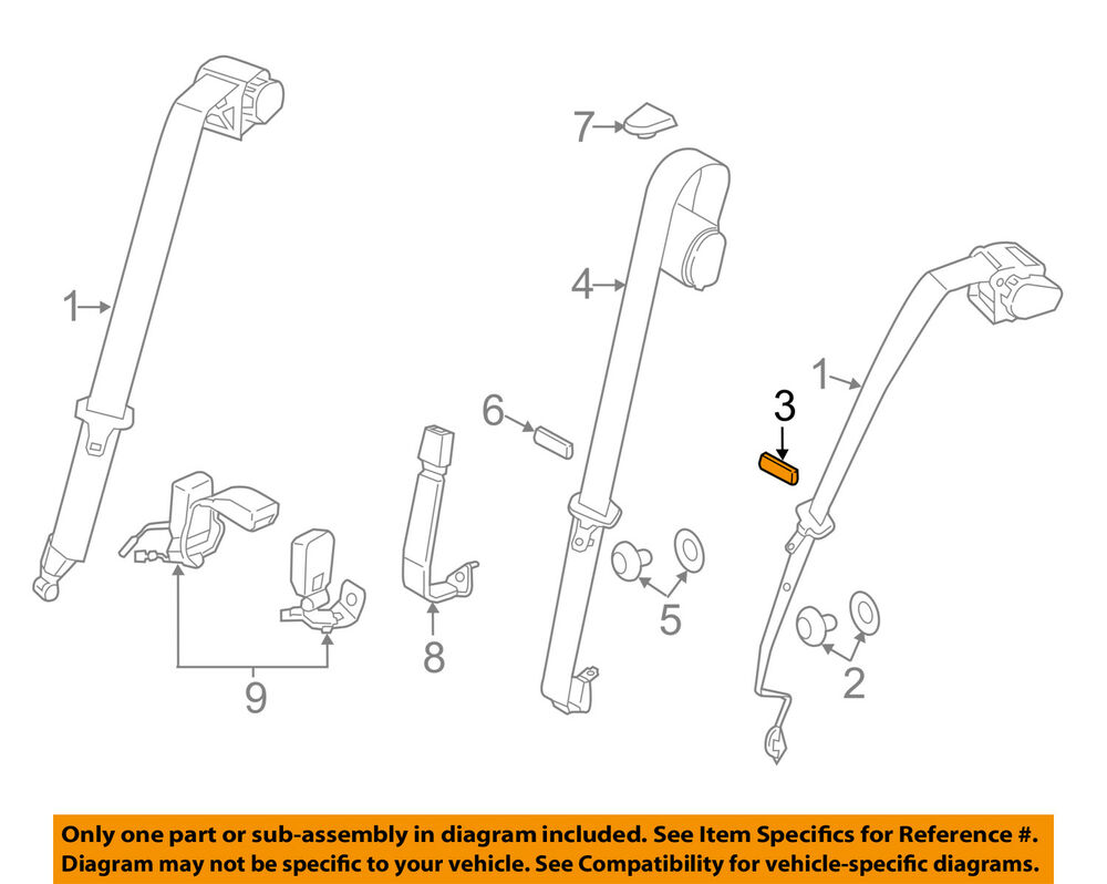 hight resolution of details about bmw oem 11 16 x3 front seat belt seat belt assembly clip 72111862636