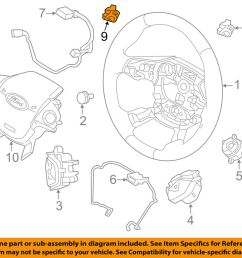 details about ford oem 15 18 focus steering wheel paddle shifter switch button f1ez3f884a [ 1000 x 798 Pixel ]