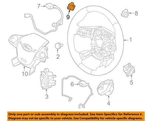 small resolution of details about ford oem 15 18 focus steering wheel paddle shifter switch button f1ez3f884a