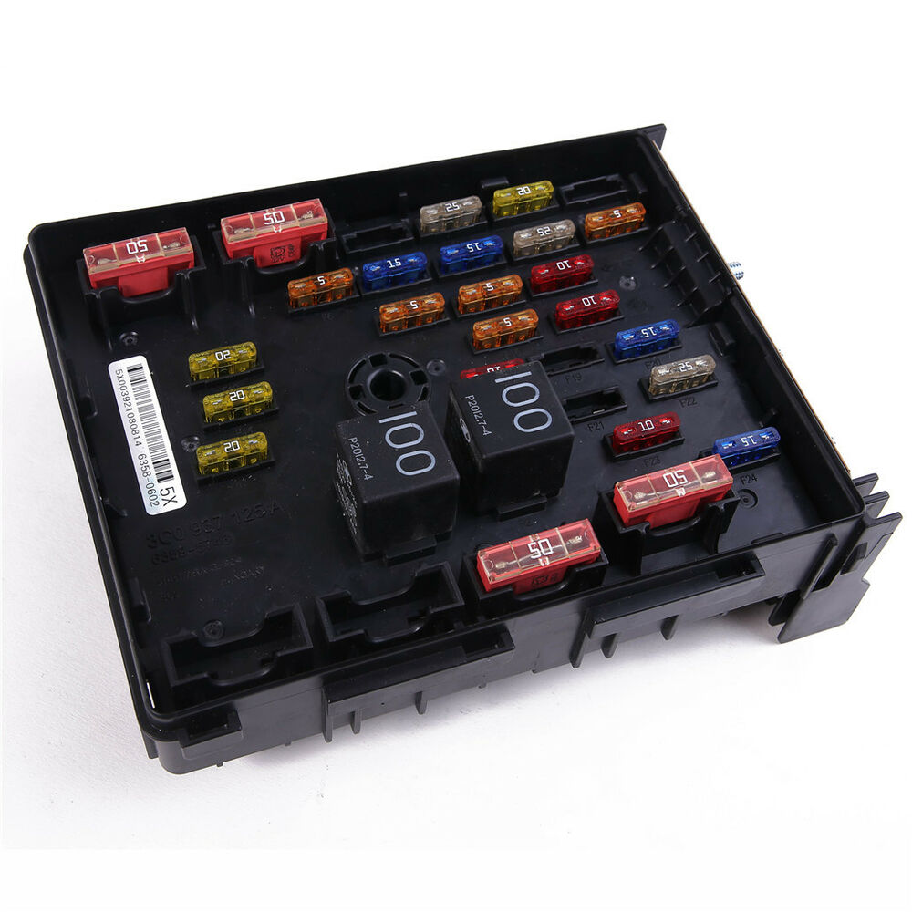 hight resolution of details about central electrical fuse box for vw passat 2006 2015 3c0937125a
