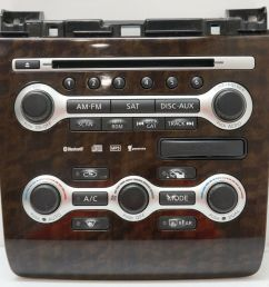 details about 08 09 10 nissan maxima radio control panel climate controls 9n02a 210410 oem [ 1000 x 991 Pixel ]