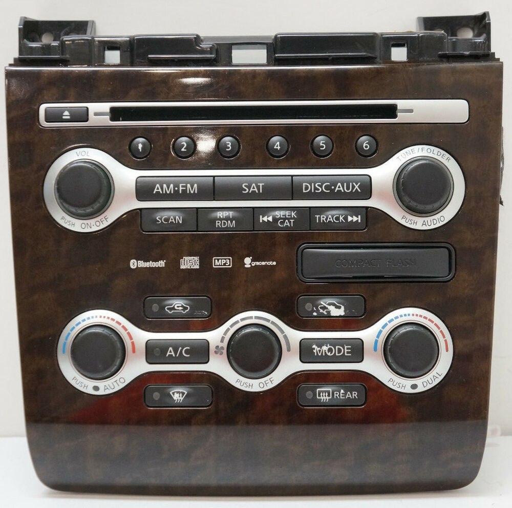 hight resolution of details about 08 09 10 nissan maxima radio control panel climate controls 9n02a 210410 oem