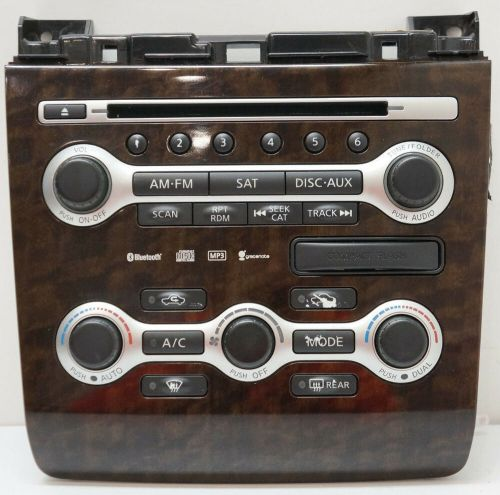 small resolution of details about 08 09 10 nissan maxima radio control panel climate controls 9n02a 210410 oem