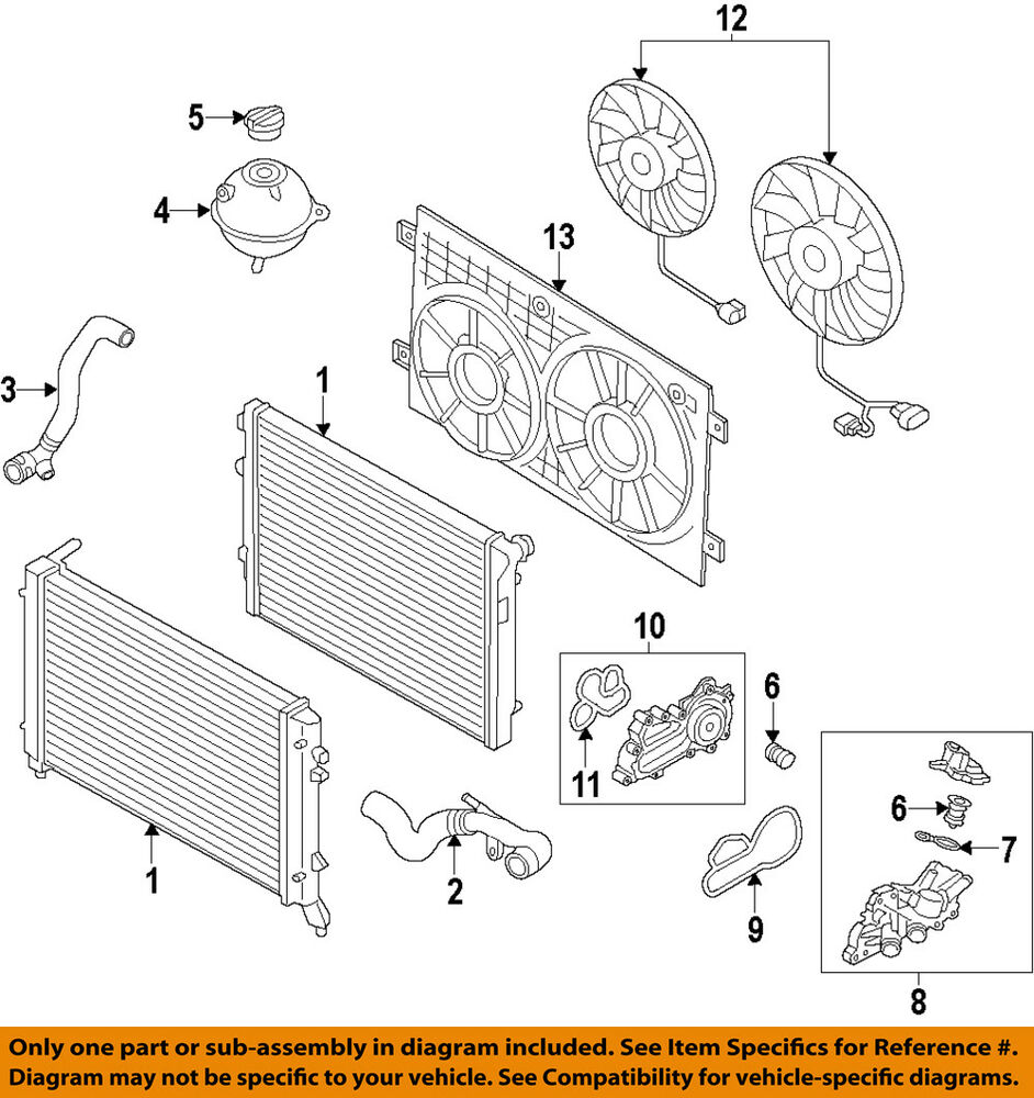 hight resolution of details about vw volkswagen oem 13 17 jetta engine coolant thermostat 04e121113f