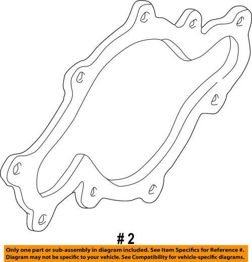 small resolution of details about ford oem 04 05 explorer sport trac engine water pump gasket fotz8507a