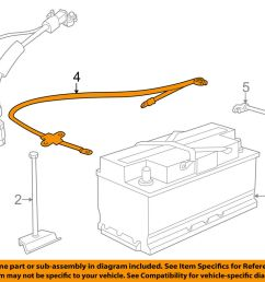 details about bmw oem 98 01 750il battery cable 12421436898 [ 1000 x 798 Pixel ]