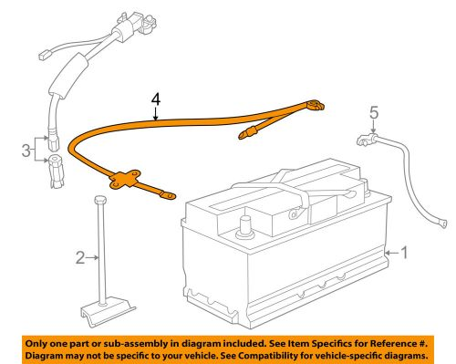 small resolution of details about bmw oem 98 01 750il battery cable 12421436898