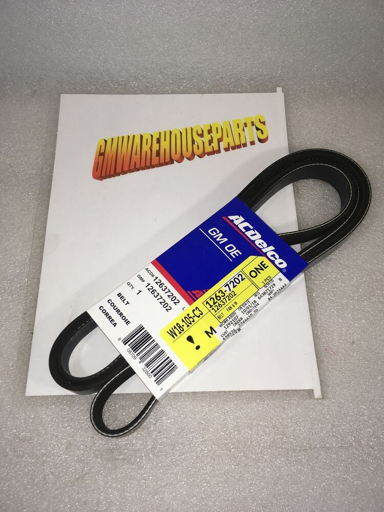 hight resolution of silverado sierra serpentine belt altenator ebay jpg 1000x798 2003 trailblazer serpentine belt