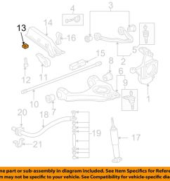 details about gm oem front suspension torsion bar nut 11561233 [ 1000 x 798 Pixel ]