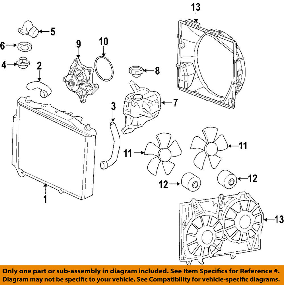 hight resolution of details about cadillac gm oem 04 09 srx engine water pump 12595614