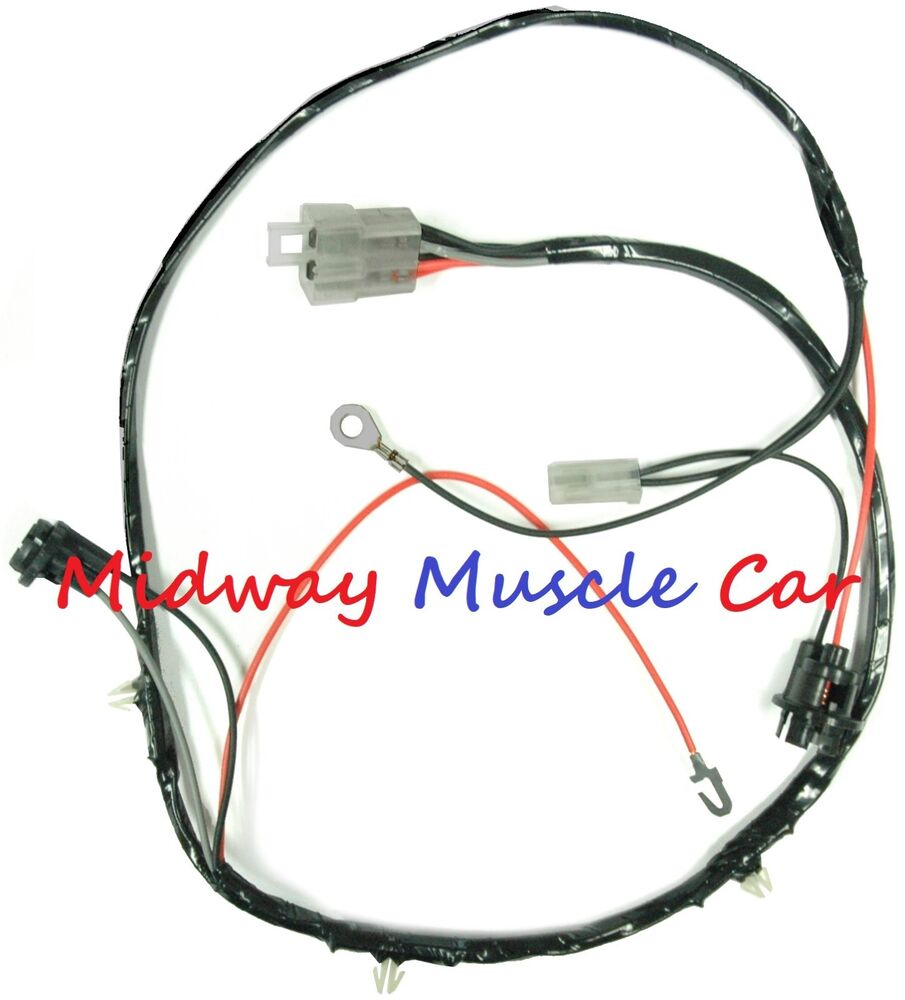 hight resolution of details about rear floor console wiring harness early 1964 64 pontiac gto lemans tempest