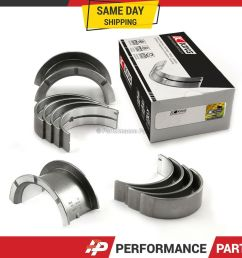 details about king main bearings for 84 92 toyota supra cressida 2 8l 3 0l 5mge 7mge 7mgte [ 1000 x 1000 Pixel ]