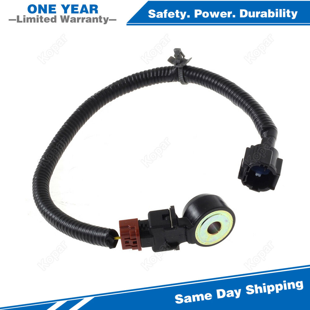 hight resolution of details about engine knock sensor w wiring harness 2206030p00 917 141 for nissan infiniti