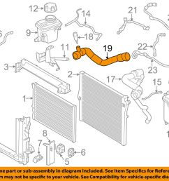 details about bmw oem 15 18 x6 radiator lower hose 11537848370 [ 1000 x 798 Pixel ]