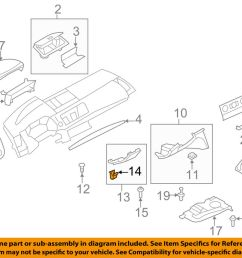 details about bmw oem 08 13 128i tail gate tailgate hatch lower trim panel clip 07146962323 [ 1000 x 798 Pixel ]
