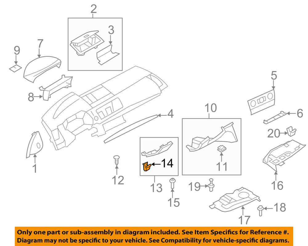 medium resolution of details about bmw oem 08 13 128i tail gate tailgate hatch lower trim panel clip 07146962323