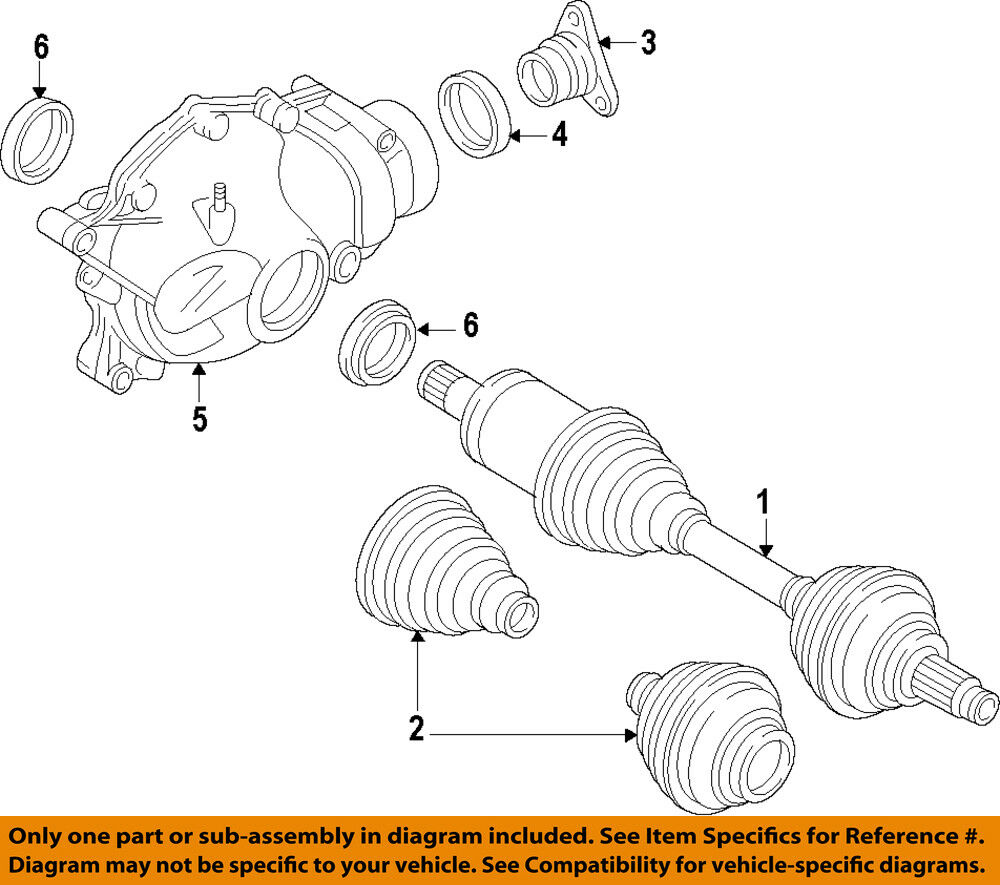 hight resolution of details about bmw oem 11 16 550i xdrive front cv axle joint boot 31607606091