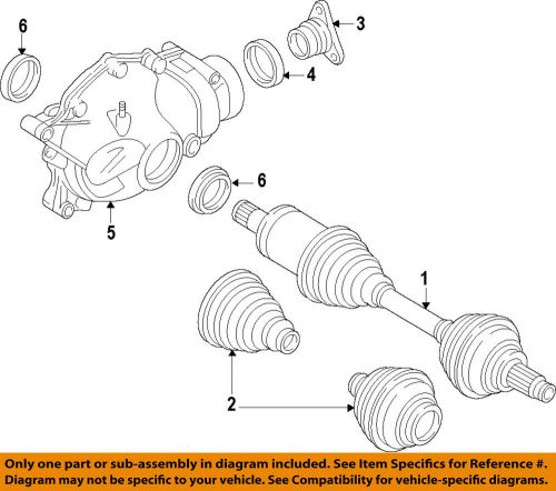small resolution of details about bmw oem 11 16 550i xdrive front cv axle joint boot 31607606091