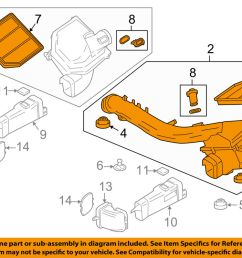 details about bmw oem 15 16 m4 3 0l l6 air cleaner intake filter box housing left 13717846269 [ 1000 x 798 Pixel ]