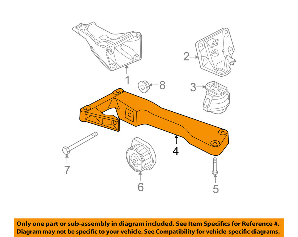 medium resolution of details about bmw oem 07 16 328i automatic transmission mount 22116769281