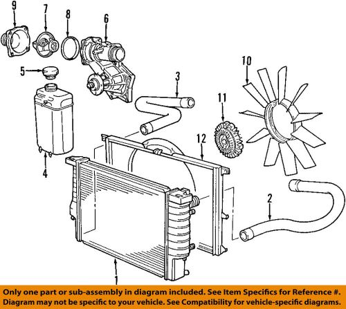 small resolution of details about bmw oem 96 98 740il engine water pump 11510393340
